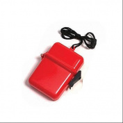 11cm Red Waterproof Personal Accessory Case
