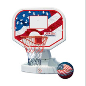USA Poolside Competition Swimming Pool Basketball Game