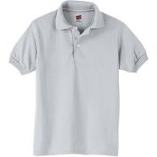 Hanes Kids Lightweight Comfortblend EcoSmart Jersey Polo
