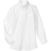 George Boys School Uniforms Long Sleeve Button Up Oxford Shirt