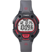 Timex Men's Ironman Traditional 30-Lap Black/Red Watch, Resin Strap