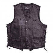 Camoplast 20-108L-52 Mossi Mens Live To Ride Vest Size 52 Black