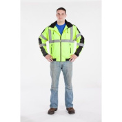 Utility Pro Wear UHV575L4XL High Visibility Green Waterproof 3-Season Jacket - 4X-Large