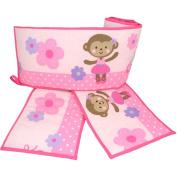Child of Mine by Carter's Ballerina Monkey Crib Bumper
