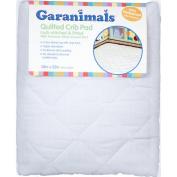 Garanimals - Quilted Fitted Crib Pad 70cm x130cm