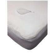 My Little Nest Organic Smooth-Top Waterproof Crib Mattress Pad