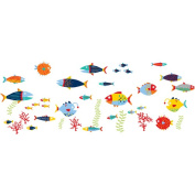 WallPops Fish Tales Decals