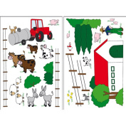 Wizard and Genius The Farm Wall Stickers