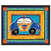 Timeless Frames Police Car Framed Art, 10x8