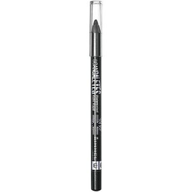 Rimmel Scandaleyes Waterproof Kohl Kajal Eyeliner, Sparkling Black, 0ml