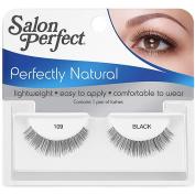 Salon Perfect Perfectly Natural Eyelashes, 109 Black, 1 pr