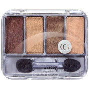 COVERGIRL Queen Collection Eyeshadow Quad, Q235 Brass N Sass