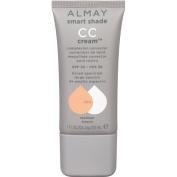 Almay Smart Shade CC Cream Complexion Corrector, 300 Medium, 30ml