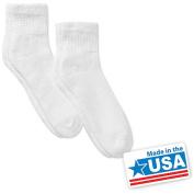 DR Scholls Men's Diabetic Quarter Socks, 2 Pack