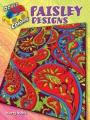 3-D Coloring Book--Paisley Designs