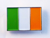 Metal Enamel Pin Badge Brooch Eire Irish Flag