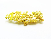 Danecraft Gold - Plated Number One #1 Mother in Law Pin Brooch