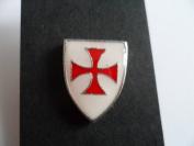 Knights Templar Shield pin badge