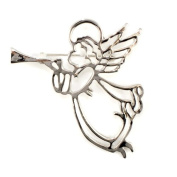 Silver Plated Festive Christmas Flying Angel Wing Brooch Pin Christening Candy Jewellery