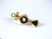 Historic Jewellery Reproduction Gold plated pewter - Romano-British brooch - Unisex