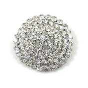 Brooches Store Deco Disco Circle Crystal Brooch