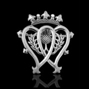 Brooches Store Silver Plated Scottish Luckenbooth Brooch
