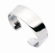 STURDY TOE RING SILVER ADJUSTABLE