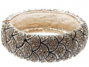 Dragon Skin Hinge Bangle