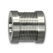 Amello Megabeads Stainless Steel Bead cylinder for bracelets and necklace made of Stainless Steel AMB237W