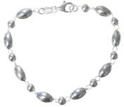 925 Sterling Silver Ladies Bracelet - 18cm*6mm