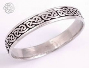 Celtic Pewter Knotwork Bangle by St.Justin TB30L