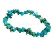 Turquoise Gemstone Chip Bracelet