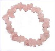 Rose Quartz Gem Chip Bracelet forPerfect Love - Gemstone