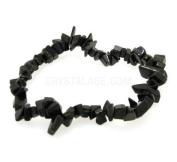 Obsidian Gemstone Chip Bracelet