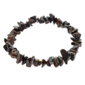 Tiger Iron Gem Chip Bracelet
