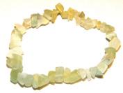 Jade Gemstone Chip Bracelet