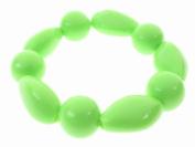 Glitz4Girlz Lime Beaded Bracelet