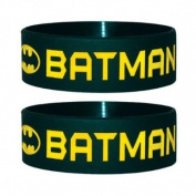 Batman - Wristband Text And Logo