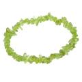 Peridot Gemstone Chip Bracelet