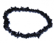 Black Tourmaline Schorl Chip Bracelet