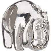 Charm Buddy Silver Plated Eeyore Charm Charm Bead, Fits Pandora/Troll /Chamilia Bracelets #1500