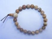 Picture Jasper Gemstone Crystal Power Bracelet
