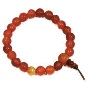 Carnelian Power Bead Bracelet