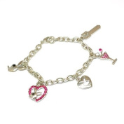 The Olivia Collection Bunny Charm Bracelet