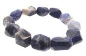Baroque Style Sodalite Gemstone Bracelet