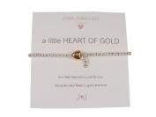 Joma Girls a little heart of gold bracelet