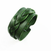Antique Men's Leather Cuff Bracelet, Leather Wrist Band Wristband Handcrafted Jewellery Sl2439