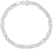 Silver 100 Celtic Bracelet 18cm