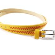 "Mixed bracelet ""Peaceful"" yellow ocher."