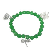 Bracelet made of aventurine and Charms
